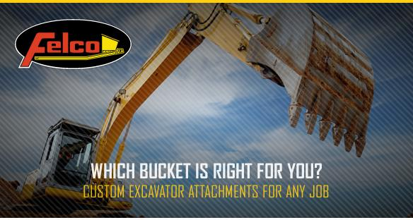 1 3 Types of Excavator Buckets