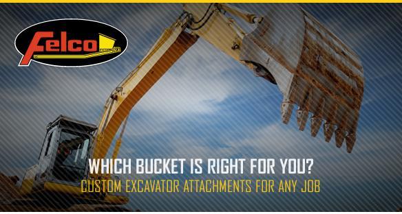 1 3 Types of Excavator Buckets